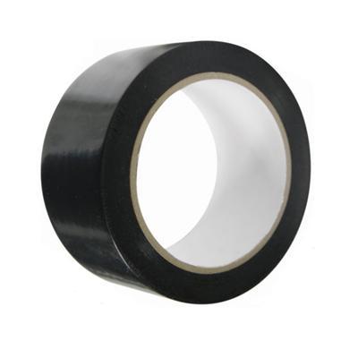 50mm x 33m  Black Low Tack PVC Tape