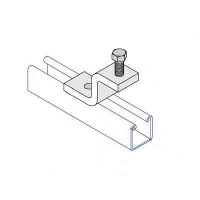 BC004 Z Shape Tapped Beam Clamp