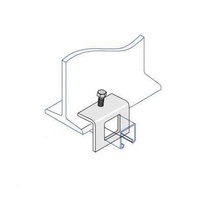 BC005 Window Bracket Beam Clamp 41 x 41mm
