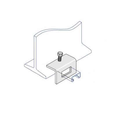 BC006 Window Bracket Beam Clamp 41 x 21mm