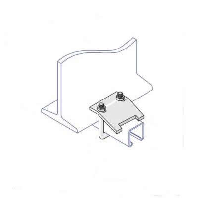 BC009 U-Bolt Beam Clamp 82 x 41mm