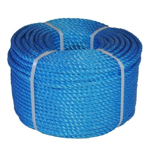 12mm Blue Polypropylene Rope 220 Meter Coil
