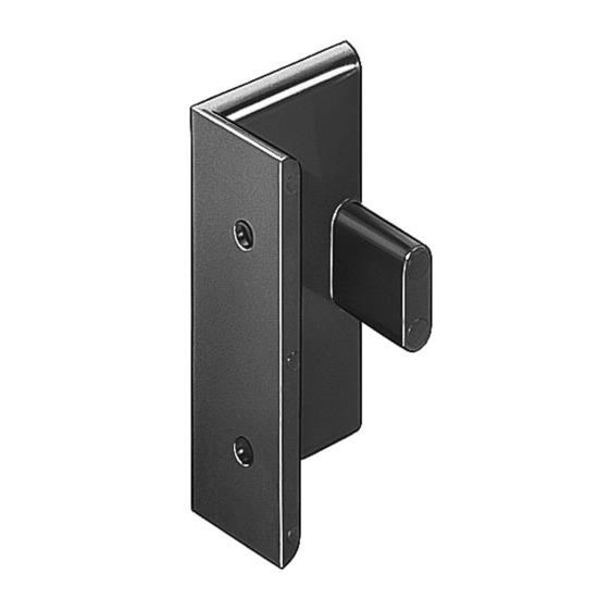 Hafele Keku Clip Double Partitions Angle