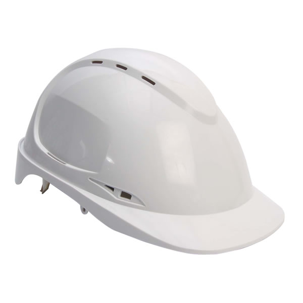 Aero Vented (AVS) Safety Helmet White