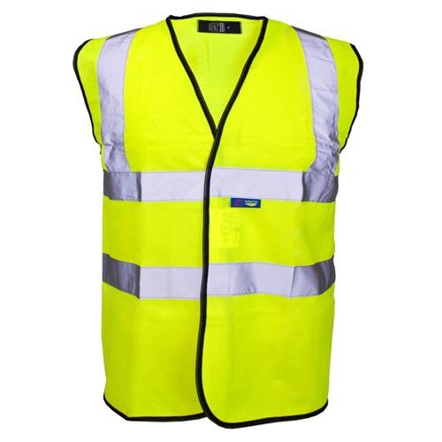 Hi Visibility Yellow Waistcoat Large