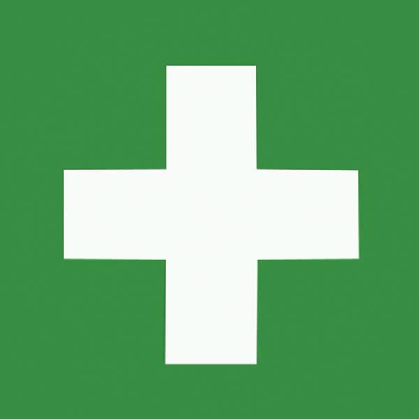 1st Aid Hard Hat Logo